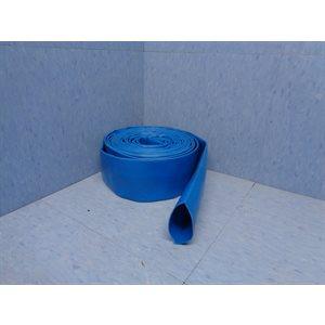 """TUYAU 1 1 / 4"""" PLAT PVC BLEU"""